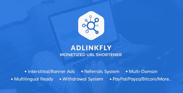 Photo of AdLinkFly v5.3.0 – Para Kazandıran URL Kısaltıcı Scripti İndir