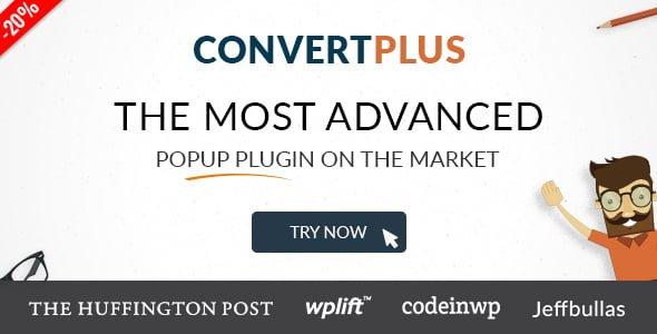 ConvertPlus v3.3.2 - WordPress Popup Eklentisi İndir