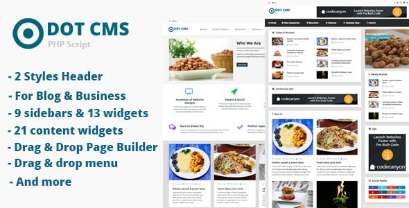 Photo of DOT Micro CMS – PHP Script İndir