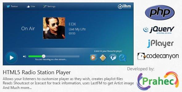 HTML5 Radyo İstasyonu Oynatıcı İndir