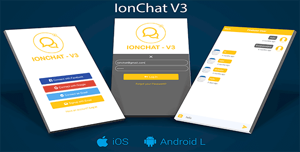 Photo of IonChat Firebase v3 Messenger Lite Uygulaması İndir
