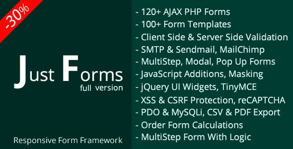Just Forms full v2.4 - Formlar Scripti İndir