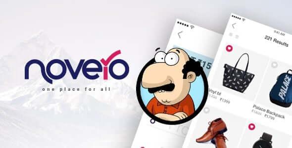 Novero - Mobil Ödemeler Sistemi Şablonu İndir