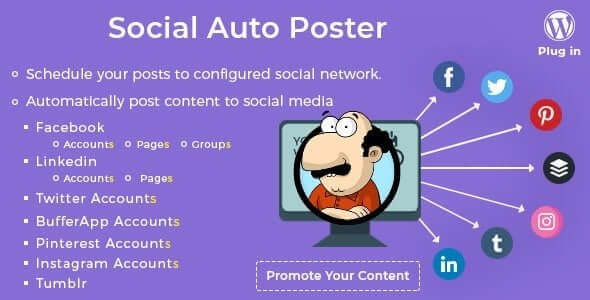 Photo of Social Auto Poster v2.8.2 – WordPress Eklentisi İndir