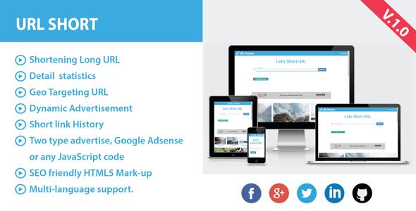 URL Kısaltma PHP Scripti (Reklamlı) İndir