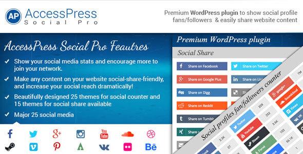 AccessPress Social Pro v1.3.7 - WordPress Eklentisi İndir