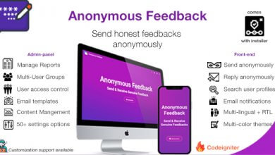 Photo of Anonymous Feedback v2.5 – Geri Bildirim Script İndir
