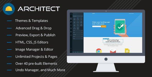Architect - HTML Site Oluşturucu v2.0.6 İndir