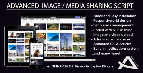 Photo of Avidi Media v1.1 – Gelişmiş Görüntü, Video, Ses ve Gif Paylaşım Scripti İndir