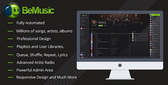 BeMusic v2.1.9 - Müzik Dinleme Scripti İndir