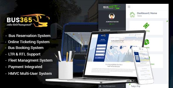 Bus365 v2.0 - Otobüs Rezervasyon Sistemi İndir