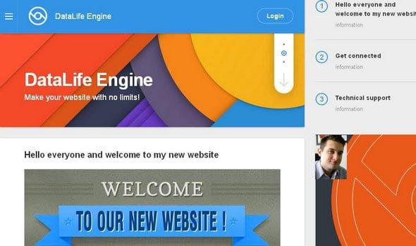 DataLife Engine v13.0 - İçerik Yönetim Sistemi İndir