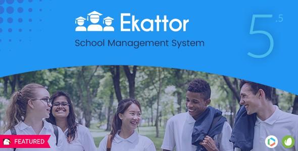 Ekattor Okul Yönetim Sistemi Pro v5.5 İndir