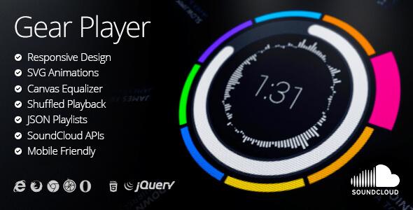 Gear HTML5 Audio Player - Müzik Çalar Script İndir