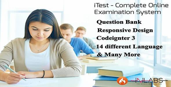 iTest - Tam Çevrimiçi Sınav Sistemi Scripti İndir