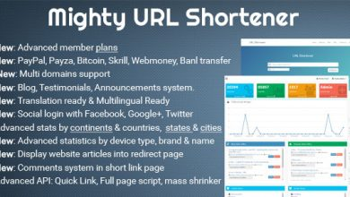Photo of Mighty URL Shortener v3.2.1 – URL Kısaltma Scripti İndir