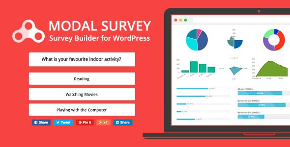 Modal Survey v1.9.9.7 - WordPress Anket ve Quiz Eklentisi İndir