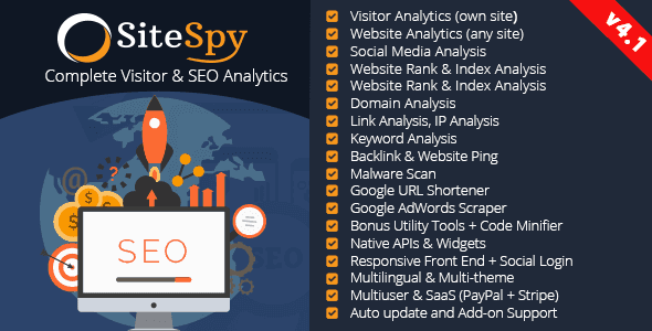 Photo of SiteSpy v4.1 – Site Analiz ve SEO Analiz Scripti İndir