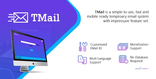 TMail v4.1 - Geçici E-posta Script İndir
