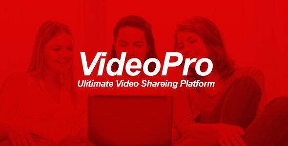 VideoPRO - Video Paylaşım Platform Script İndir