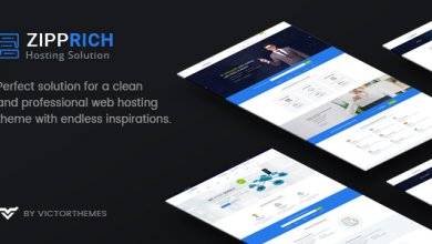 Zipprich - Web Hosting & WHMCS WordPress Teması