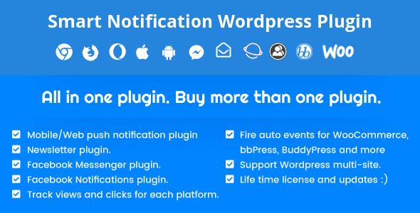 Akıllı Bildirim WordPress Eklentisi v7.7.7 İndir