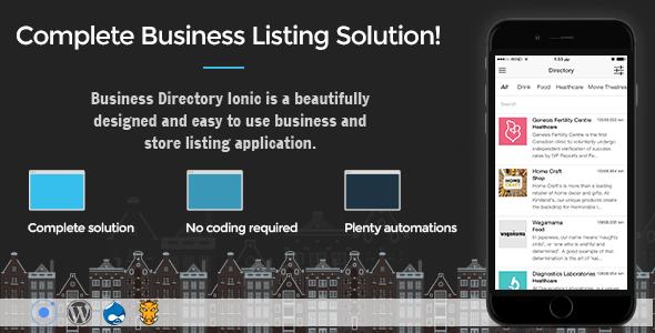 Business Directory Ionic 3 - Uygulamasını İndir