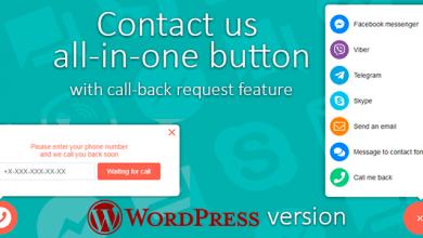Photo of Contact us v1.0.3 – WordPress Arama ve İletişim Butonları Eklentisi İndir