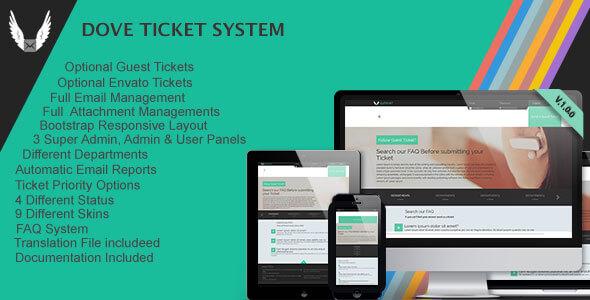 Dove Ticket System v2.0.0 İndir