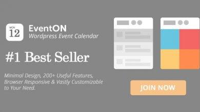 Photo of EventOn v2.6.13 – WordPress Etkinlik Takvimi Eklentisi İndir