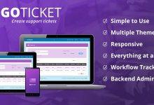 Go Tickets - Destek Yönetim Script İndir