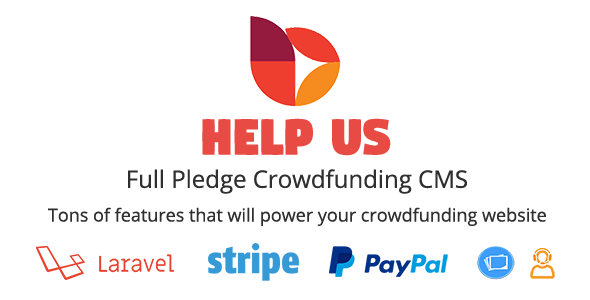 HelpUs v1.0.2 - Ultimate Crowdfunding Solution İndir