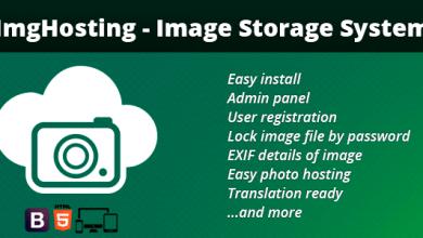Photo of ImgHosting v1.2 – Görüntü Depolama Script İndir