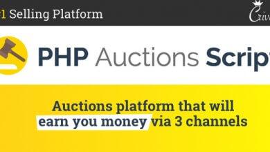 Photo of PHP Auctions Script v1.1.1 – Açık Artırma Script İndir