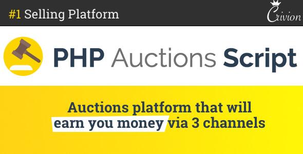 PHP Auctions Script v1.1.1 - Açık Artırma Script İndir