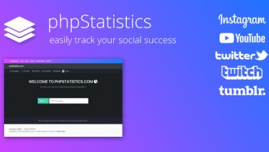 Photo of phpStatistics v1.6.2 – Instagram, Twitter, Twitch ve YouTube için Sosyal İzleme Script İndir