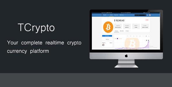 TCrypto v1.3.1 - Canlı Cryptocurrency Piyasa Script İndir