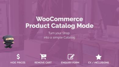 WooCommerce Product Catalog Mode v1.5.1 - WordPress Eklentisi İndir
