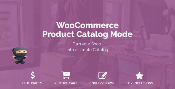 WooCommerce Product Catalog Mode v1.5.1 - WordPress Eklentisi İndir