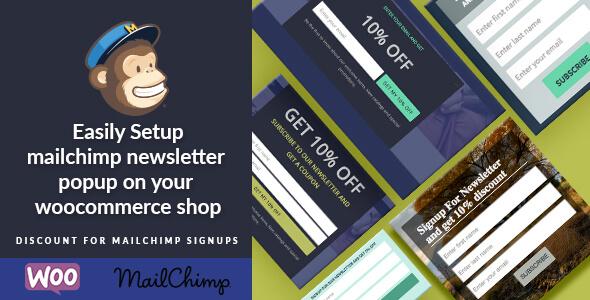 WordPress Woocommerce Mailchimp Discount v2.7 Eklentisi İndir