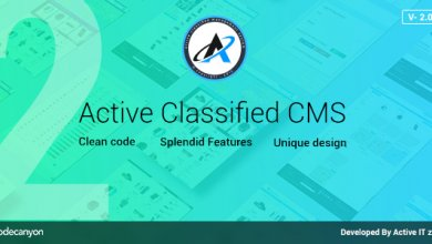 Active Classified CMS v2.0.0 - İlan Script İndir
