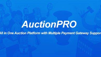 AuctionPRO - Açık Artırma Platform Script İndir