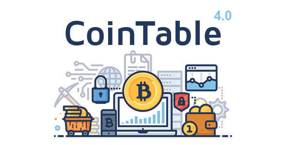Coin Table v4.0 - Madencilik CMS İndir