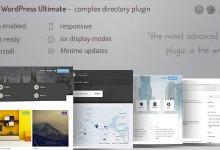 Directory ultimate PRO WordPress v1.0 İndir