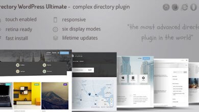 Directory ultimate PRO WordPress v1.0 İndir