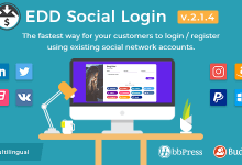 Easy Digital Downloads - Sosyal Giriş v2.1.5 İndir