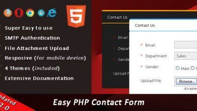 Photo of Easy PHP Contact Form Script v2.3 İndir