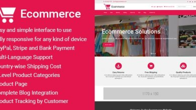 Photo of Ecommerce v1.2 – Responsive Ticaret Script İndir