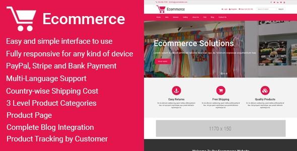 Ecommerce v1.2 - Responsive Ticaret Script İndir