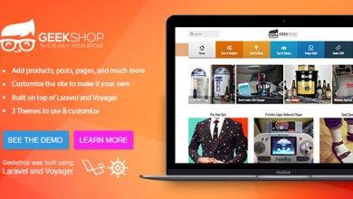 GeekShop v1.0.11 - Ürün Satma Script İndir